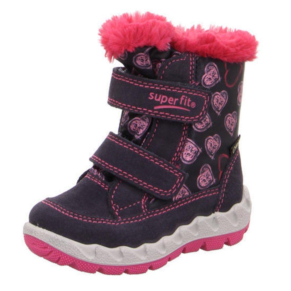 detské zimné topánky ICEBIRD, Superfit, 3-00015-80, modrá