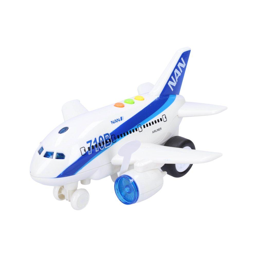 Wiky Vehicles Letadlo 19 cm se světelnými a zvukovými efekty, Wiky Vehicles, W111414