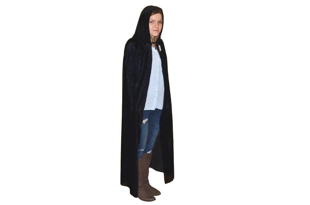 WIKY Černý plášť 130cm, Wiky, W880344