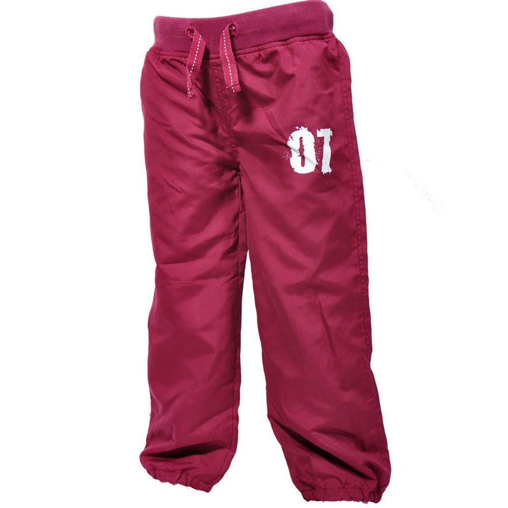 nohavice športové, Pidilidi, PD712, vínová - 98