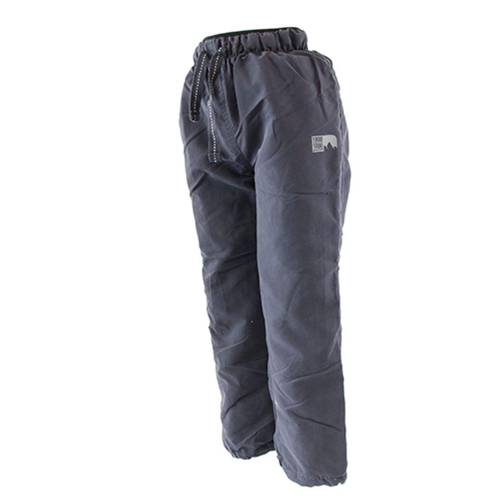 kalhoty sportovní podšité bavlnou outdoorové, Pidilidi, PD1074-09, šedá - 104