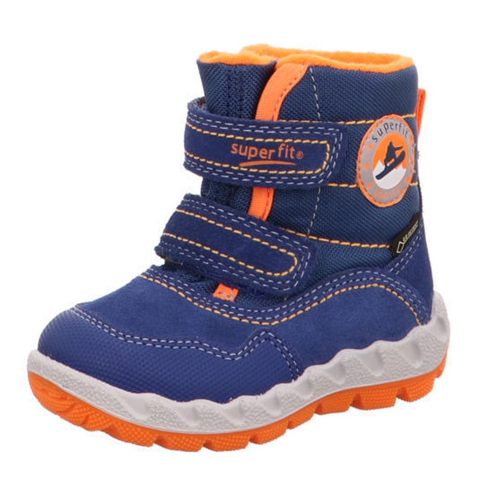 detské zimné topánky ICEBIRD, Superfit, 3-00013-81, modrá