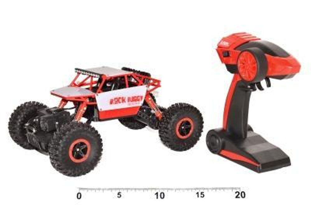 ROCK BUGGY Red Scarab (malé), WIKY, 280108