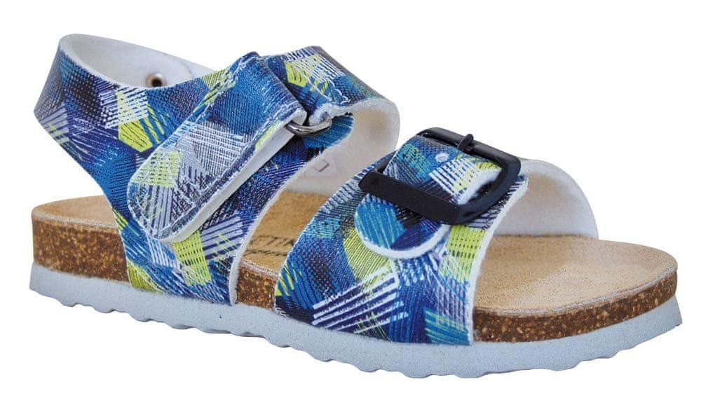 Detské ortopedické sandále Lifestyle T97/98, Protézy, modré - 27