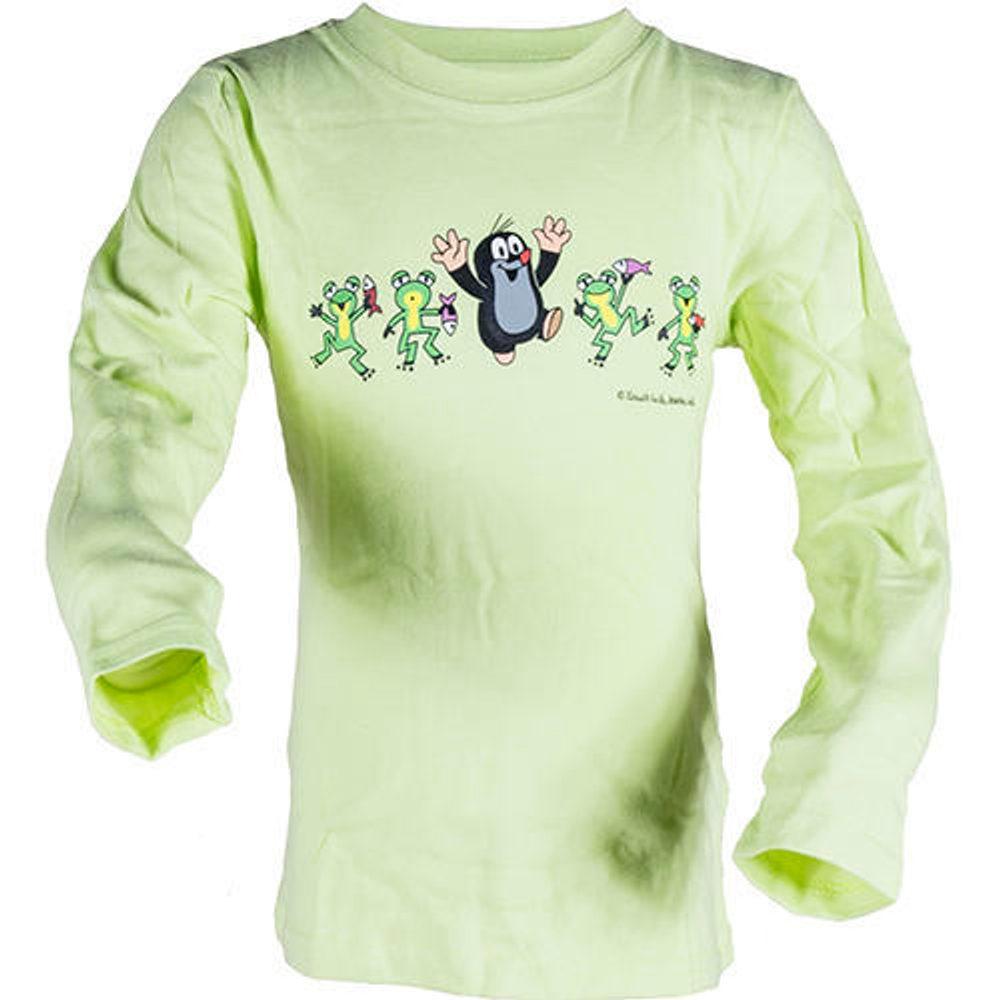tričko dievčenské KRTKO FROG, Pidilidi, 2014, zelená - 104