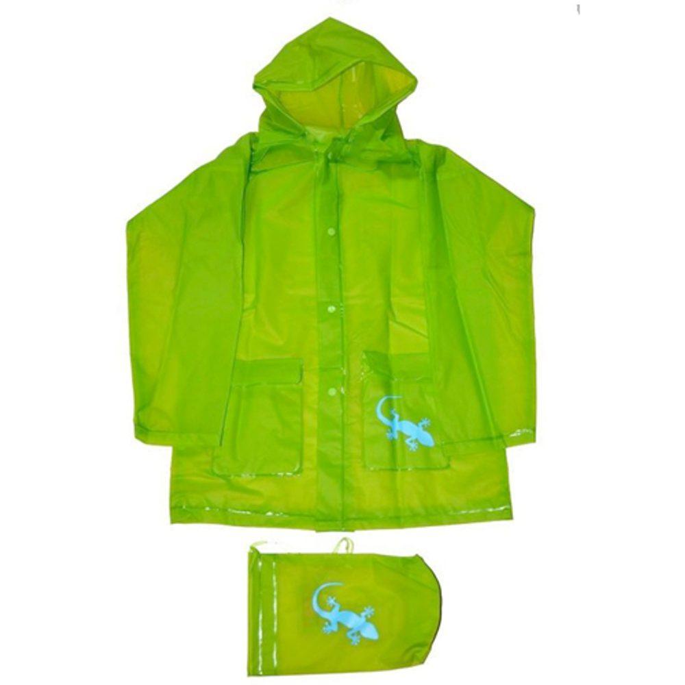 pláštenka Salamander + pytlik, Pidilidi, PL0045-19, zelená - 140