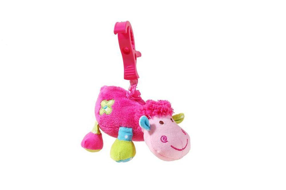 Baby zvieratko vibrujúca s klipom, Pidilidi, 5015, růžová