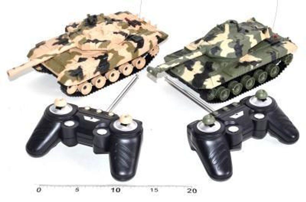 WIKY Ničivá tanková bitva na dálkové ovládání, WIKY, 100871
