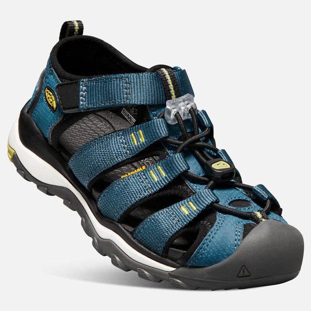 Dětské sandály NEWPORT NEO H2 JR, legion blue/moss, Keen, 1018425, modrá - 37