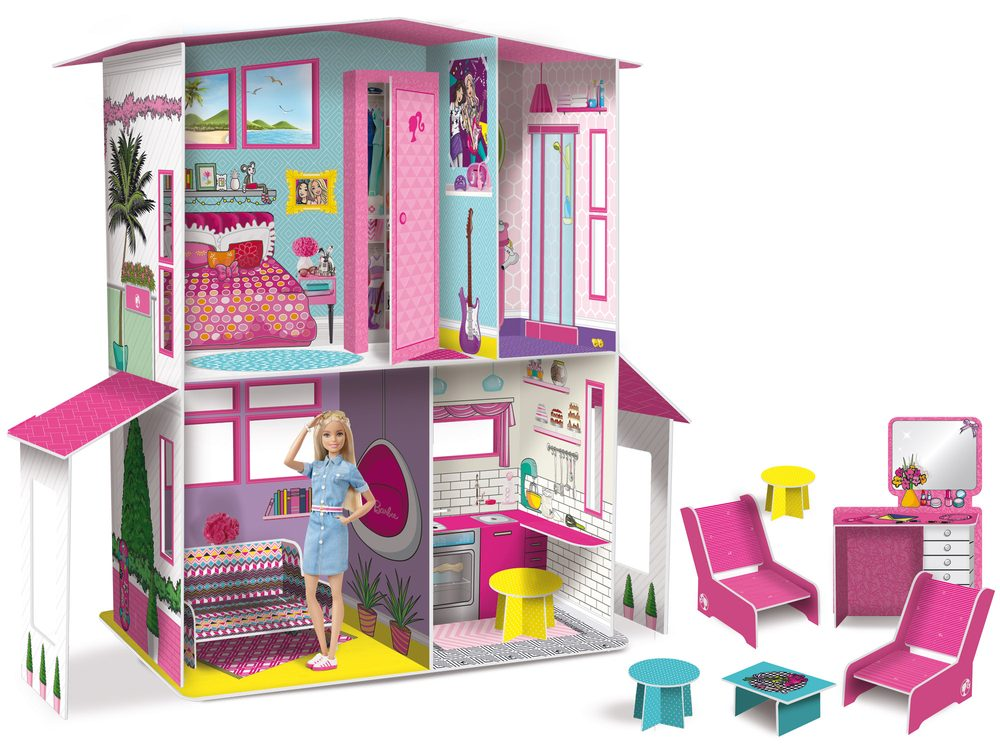 Lisciani domeček Barbie, Lisciani, W009364