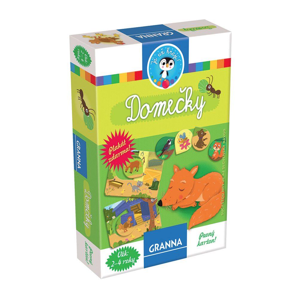 Domčeky - didaktická hra, Granna, W574088