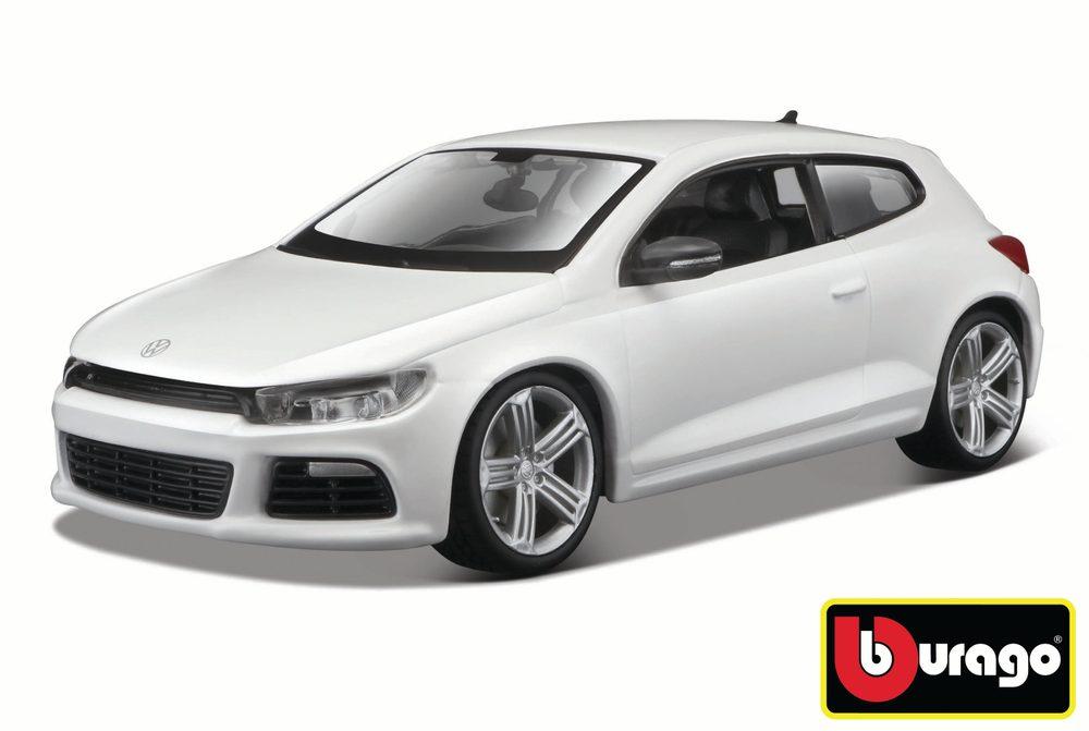 Bburago 1:24 Volkswagen Scirocco R White, Bburago, W007364