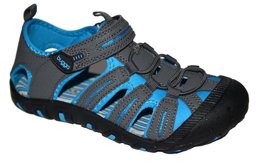 sandále dětské vel. 27 až 35, Bugga, B118, modrá - 27