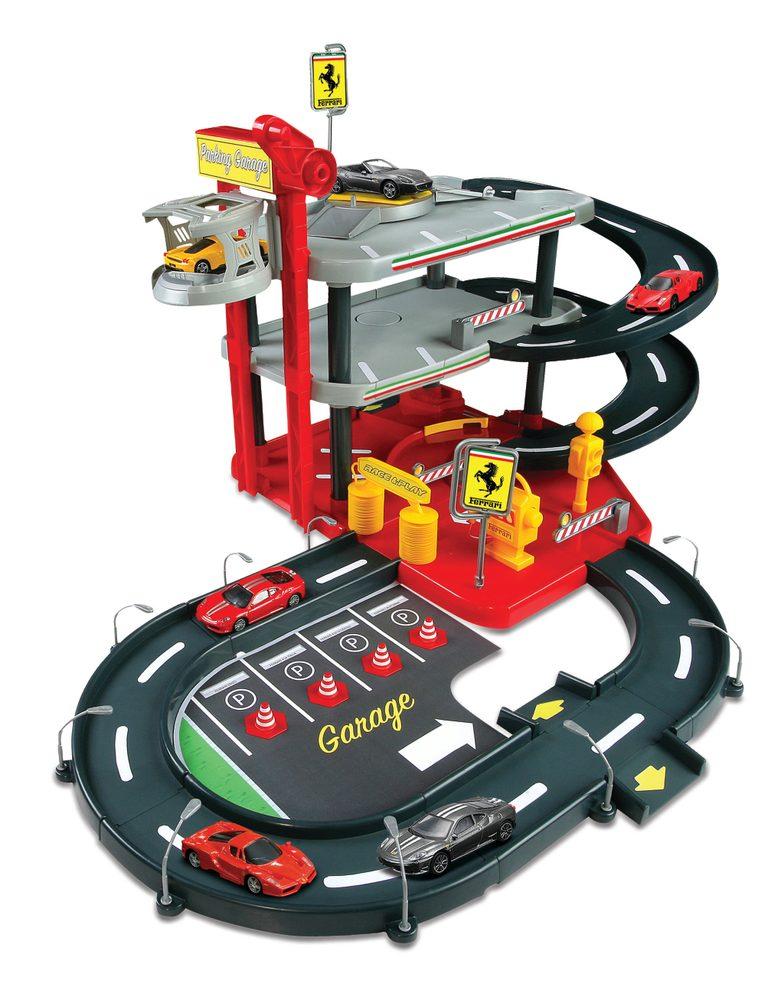 Bburago 1:43 Ferrari Race - Play garáž, Bburago, W102446