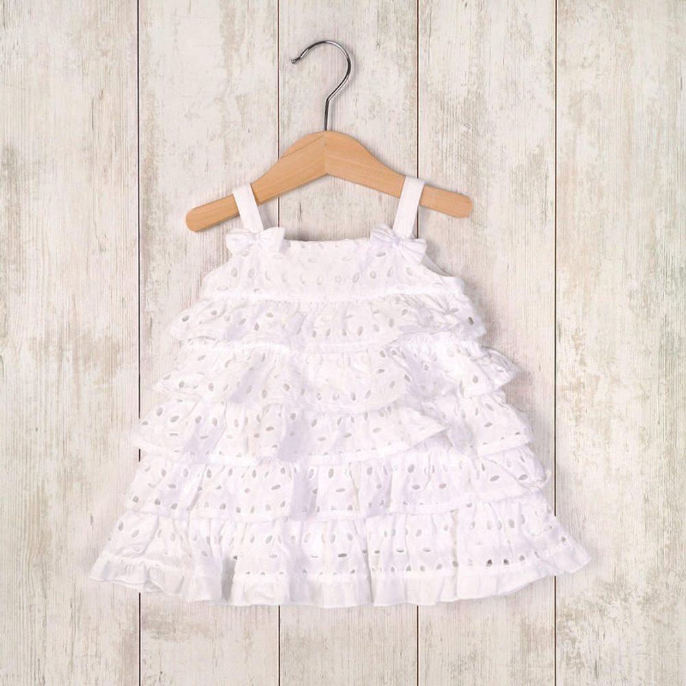 šaty letné a nohavičky, Minoti, LOVELY 7, bílá