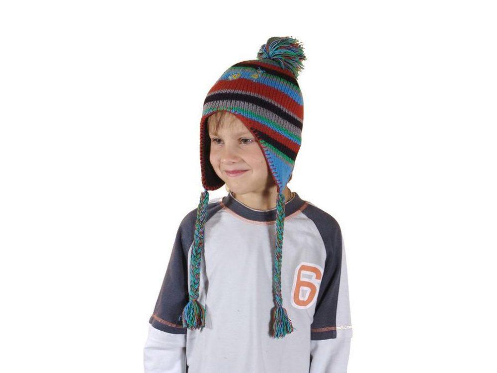 Čepice pletená, Pidilidi, PD370, kluk - 1/2let