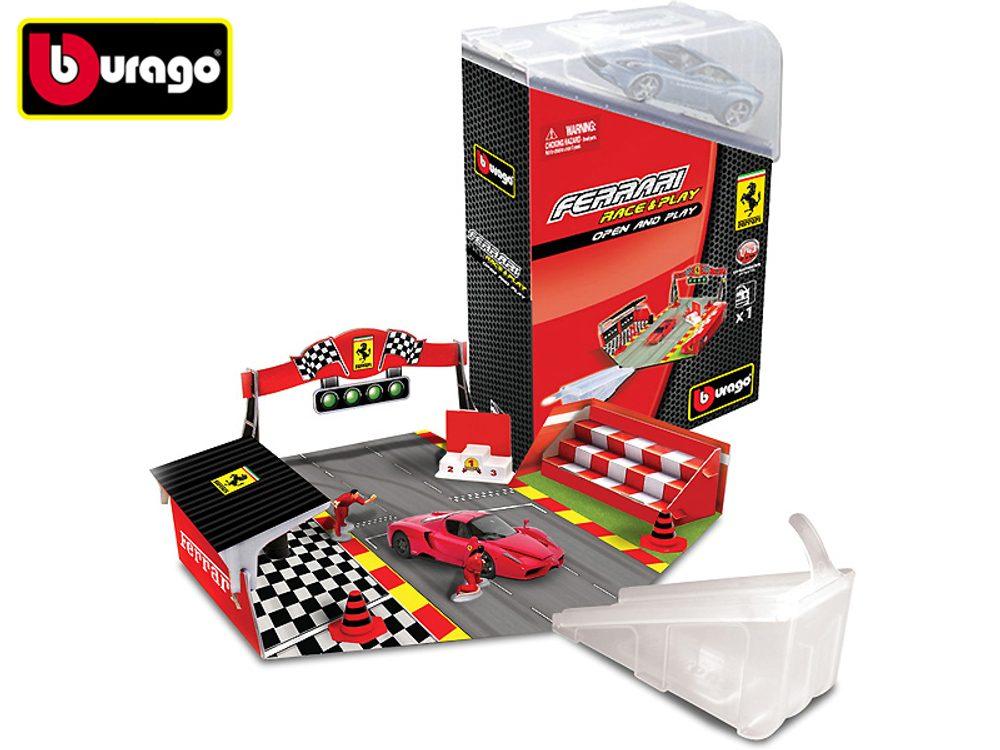 Ferrari Open-Play set s autom 1:44 / rôzne druhy, Bburago, W102464