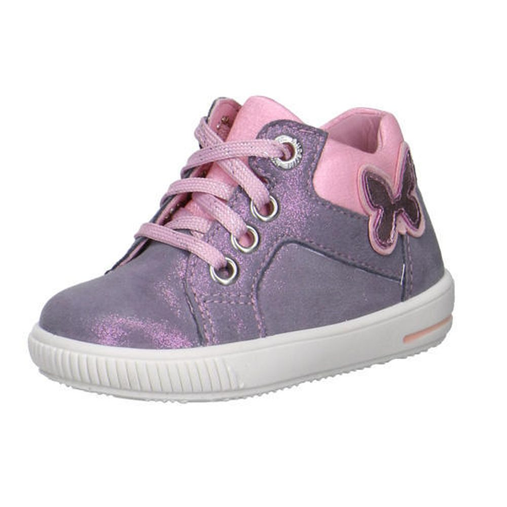 Levně Superfit dívčí celoroční obuv MOPPY, Superfit, 2-00361-44, stříbrná - 25