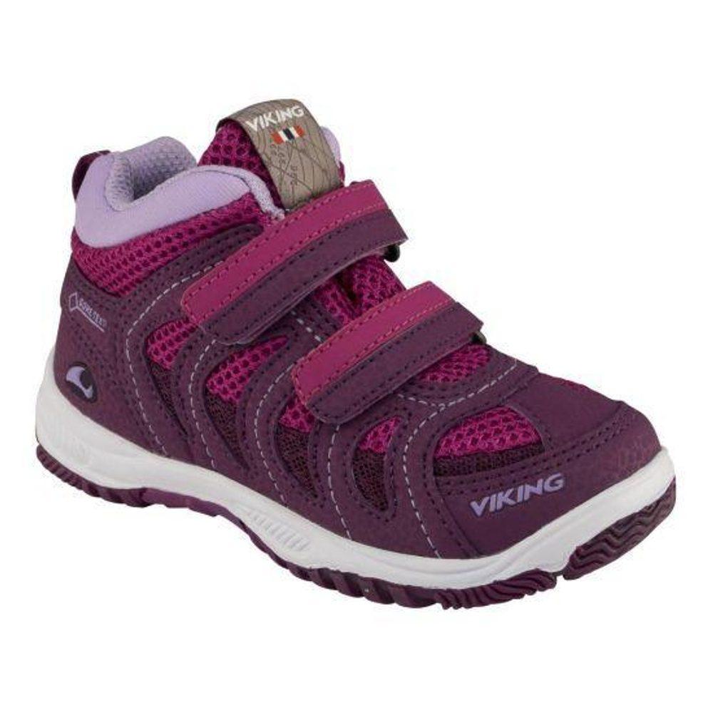 Levně Viking dětské celoroční boty Cascade II mid GTX, Viking, 3-46510-6239, růžová
