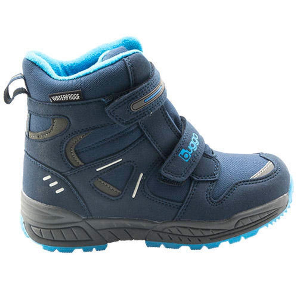 Bugga dětské zimní boty, Bugga, B00151-04, modrá
