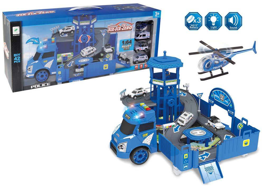 Dodávka s parkovacie stanicou 46,5x49x29 cm, Wiky Vehicles, W006510