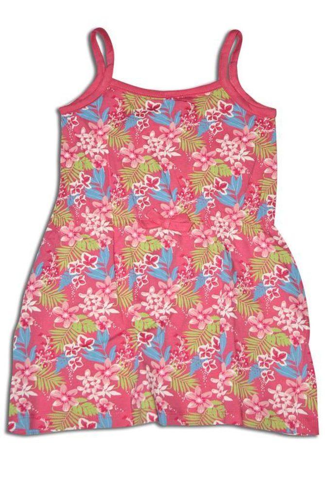 šaty dívčí letní, Minoti, BEACH 3, růžová - 68/80