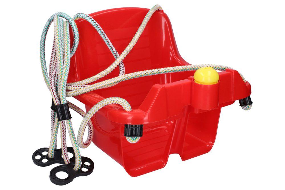 Houpačka dětská plastová červená, Wiky, W011901
