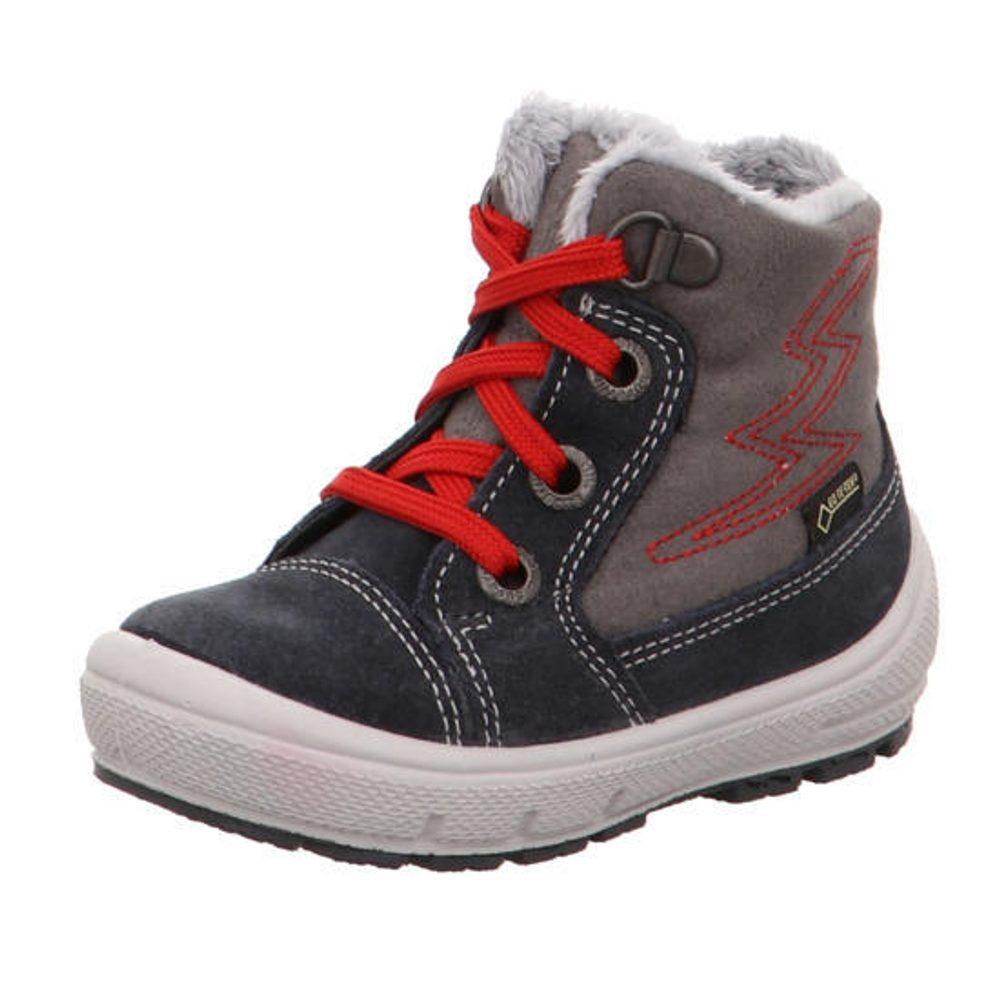 detské zimné topánky GROOVY, Superfit, 3-09306-20, červená - 21