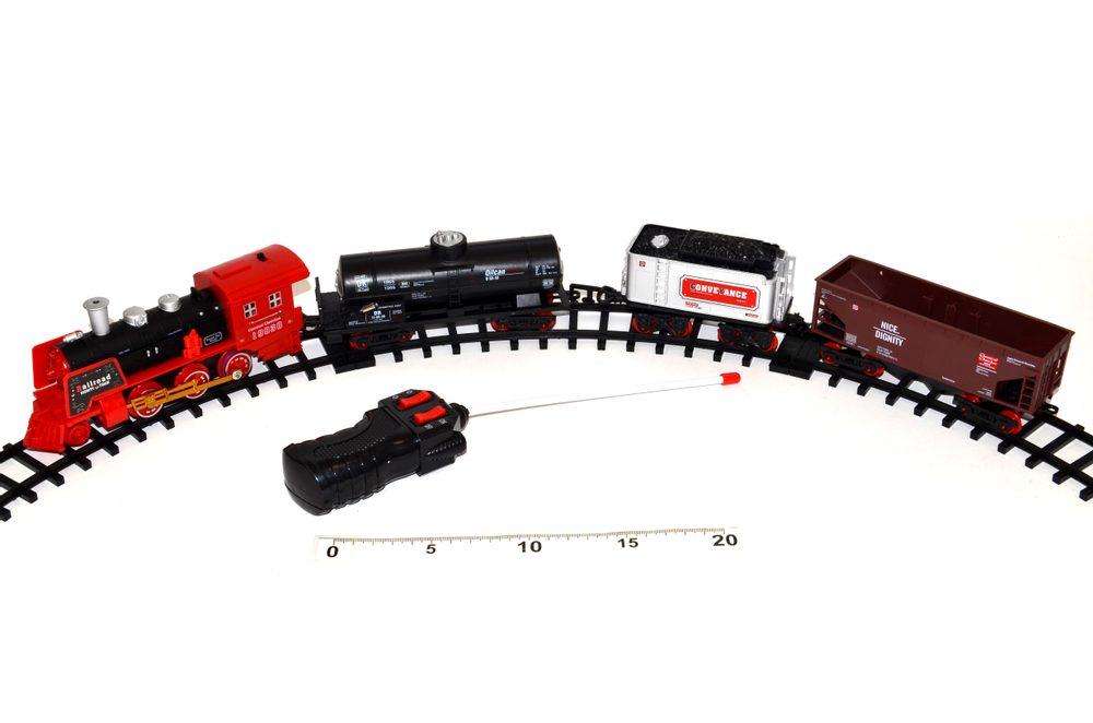 """RC vlak """"Train King"""" se světlem a kouřem, Wiky RC, W111039"""