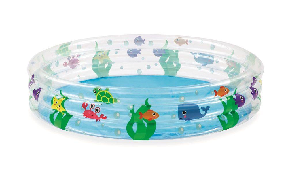 Nafukovací bazén podmorský svet, 3 kruhy, 1,52 m x 30 cm, Bestway, W004731