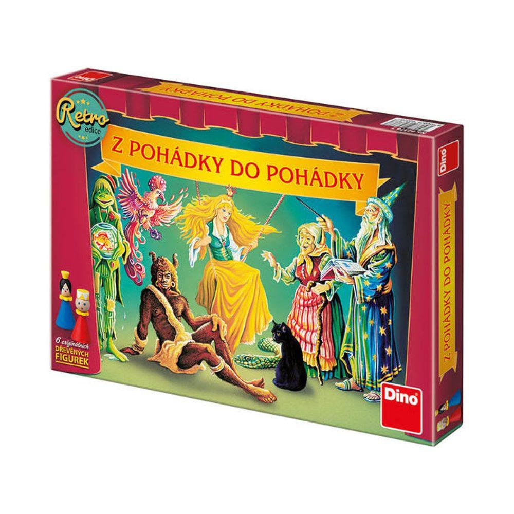 Dino Hry Z POHÁDKY DO POHÁDKY RETRO EDICE Dětská hra, Dino Hry, W000203