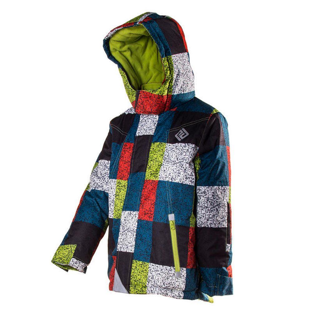 zimná bunda s lyžiarskym pásom, Pidilidi, PD1058-02, kluk - 98