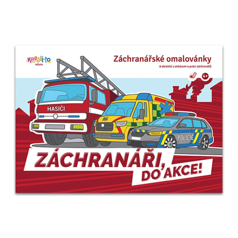 Záchranári - Do akcie !, Kresli.to, W012839