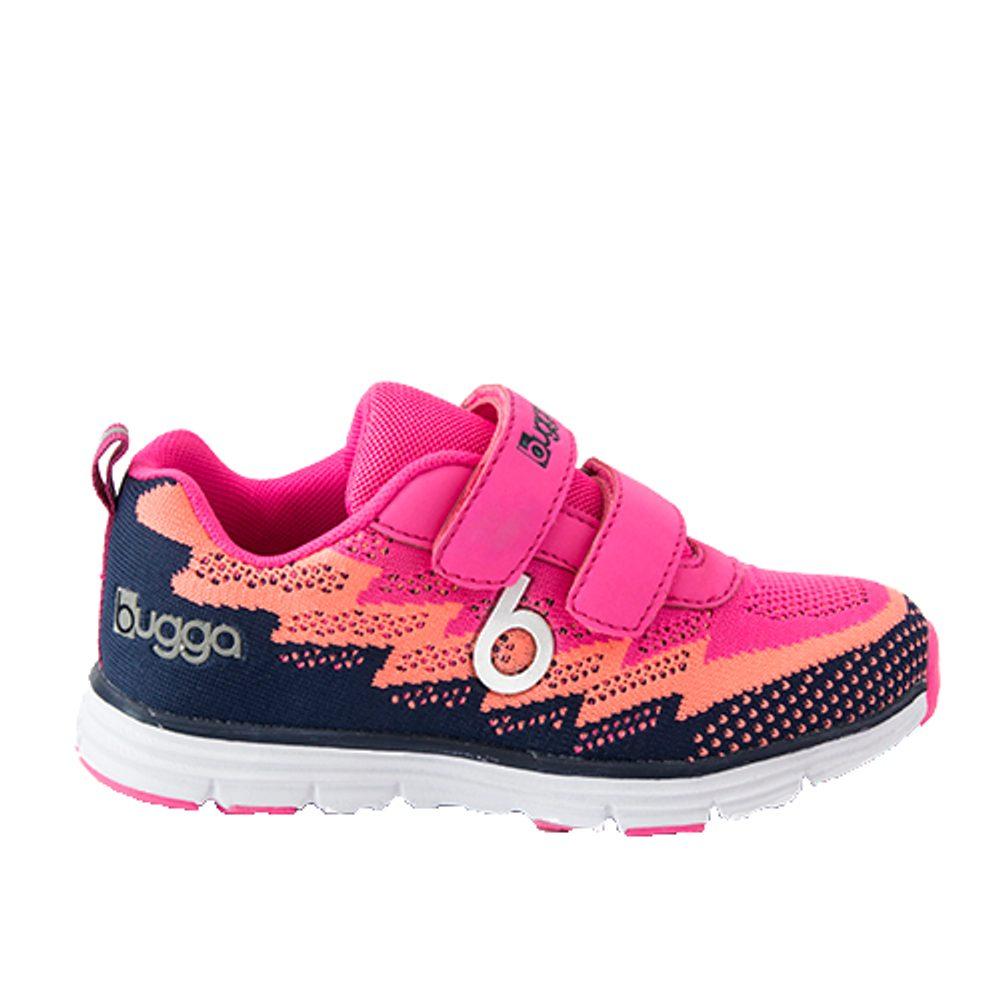 boty sportovní tenisky OUTDOOR, Bugga, B00162-03, růžová - 36