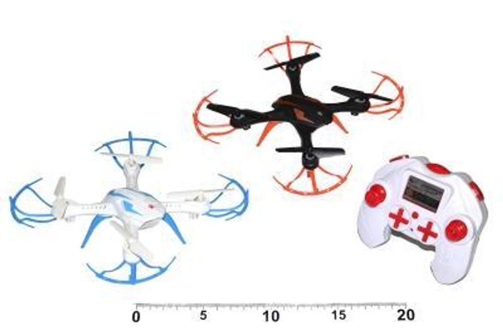 WIKY Dron RC 18x18 cm 2 druhy, WIKY, 111069