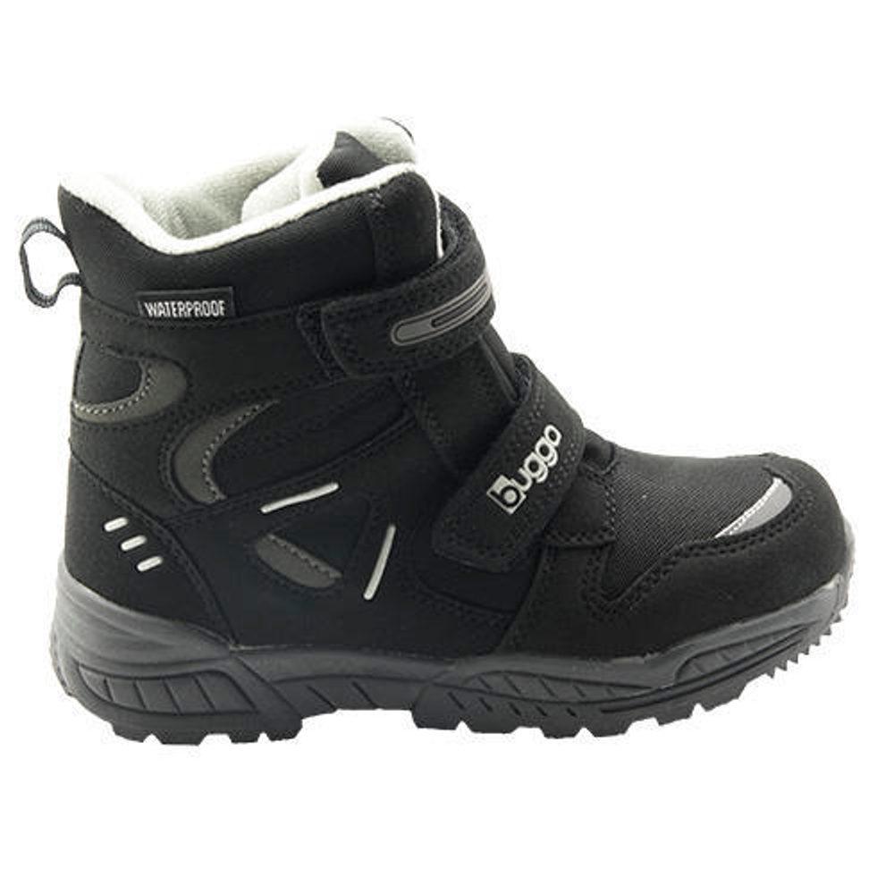 Bugga dětské zimní boty, Bugga, B00151-10, černá