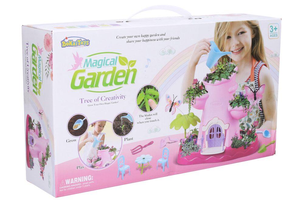 Magická záhrada s motýliky, Wiky kreativita, W007836