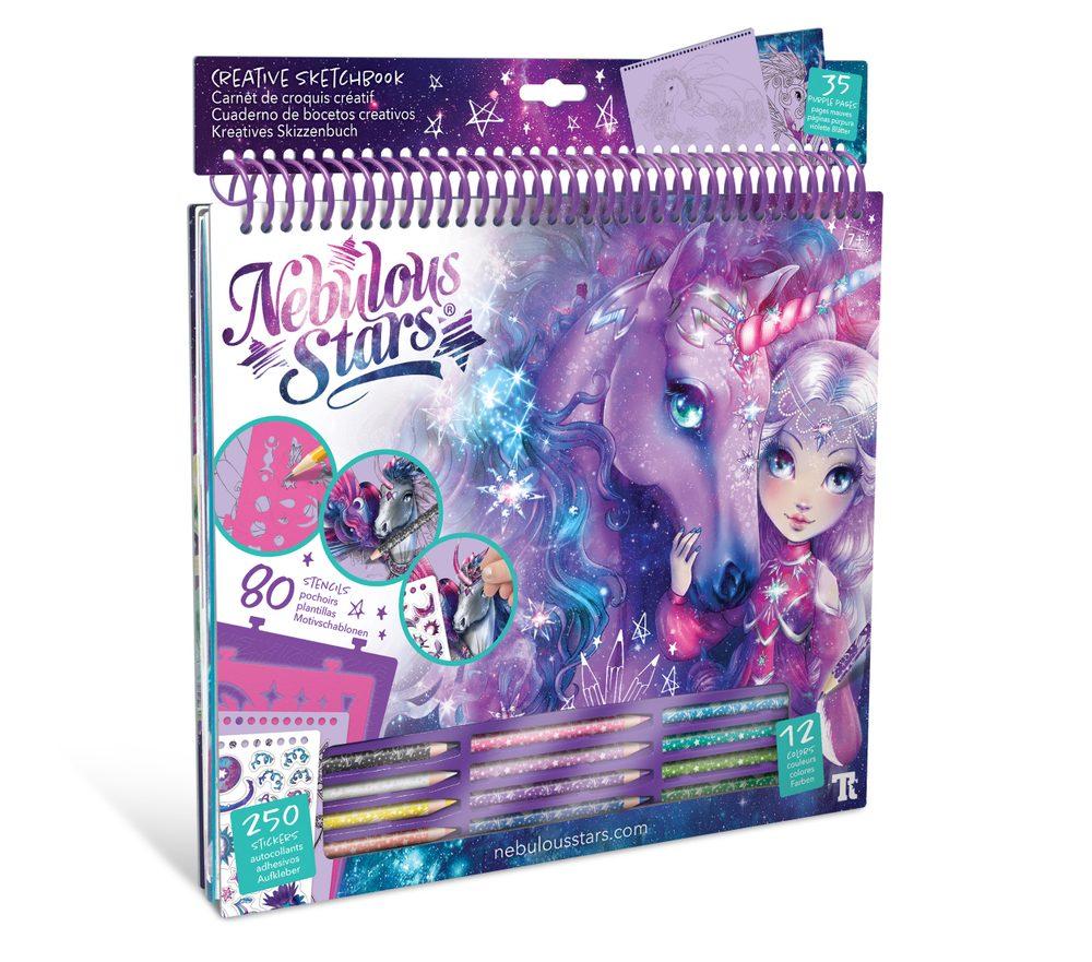 Kreativní sketchbook Fantasy Horses, Nebulous Stars, W007974