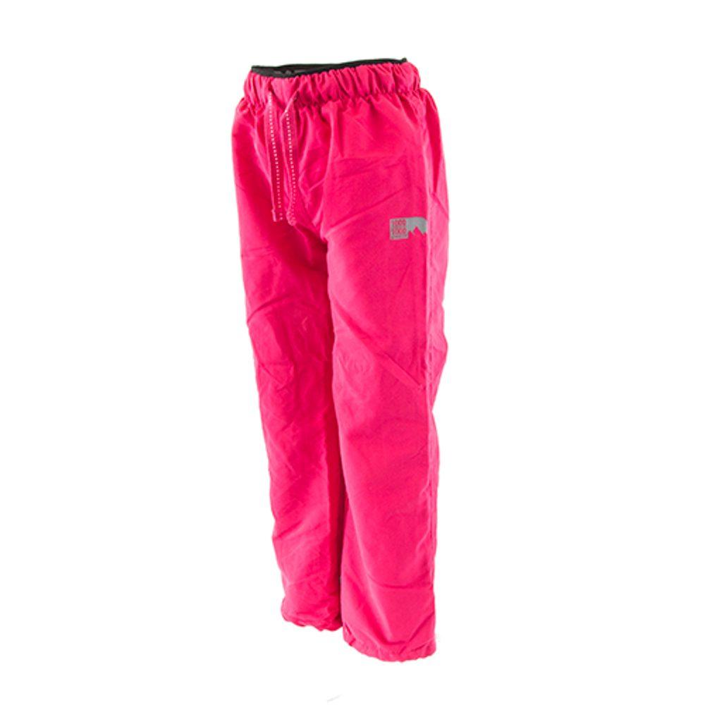 kalhoty sportovní dívčí podšité bavlnou outdoorové, Pidilidi, PD1074-03, růžová - 104