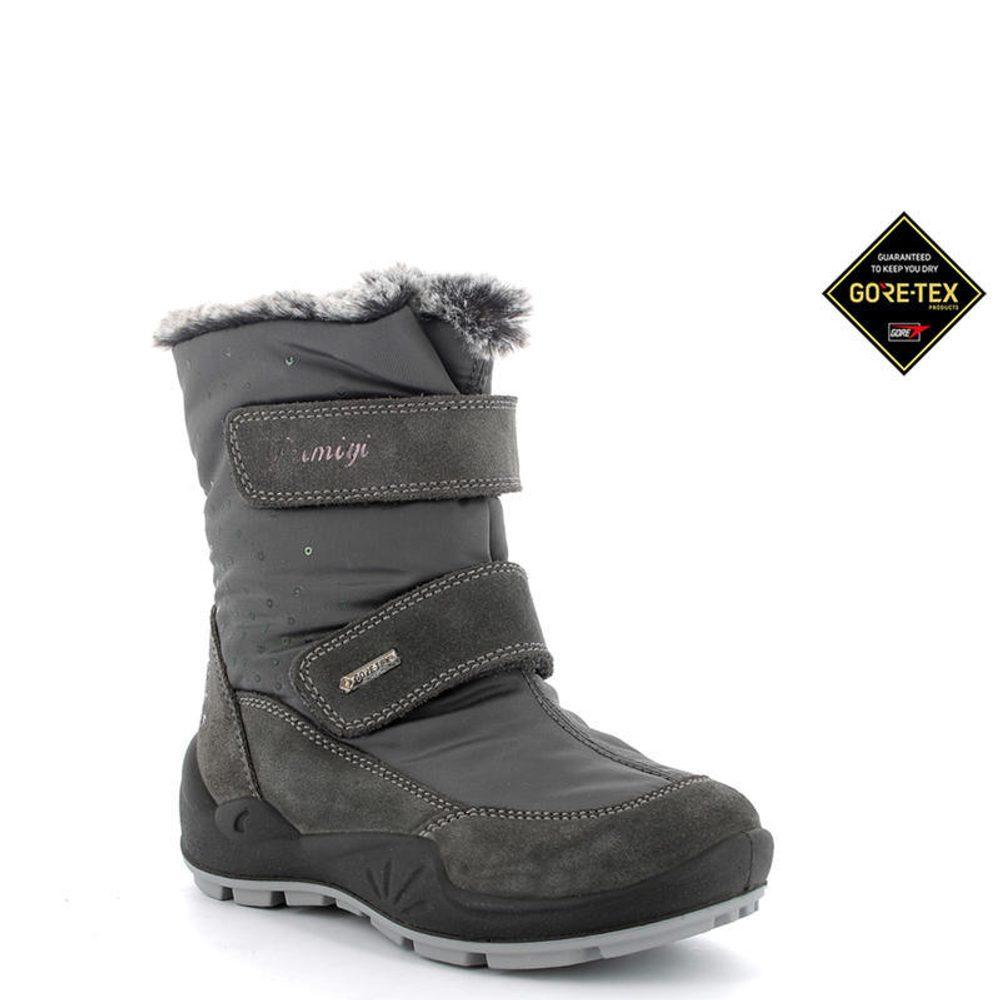 Primigi dívčí boty zimní GTX, Primigi, 4381200, šedá - 33
