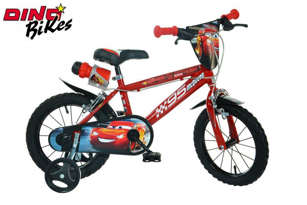 Dětské kolo Cars, Dino Bikes, W012696