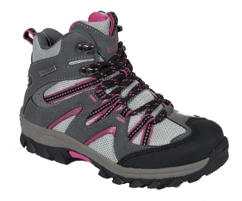 boty divčí trek, Bugga, B062, růžová - 37