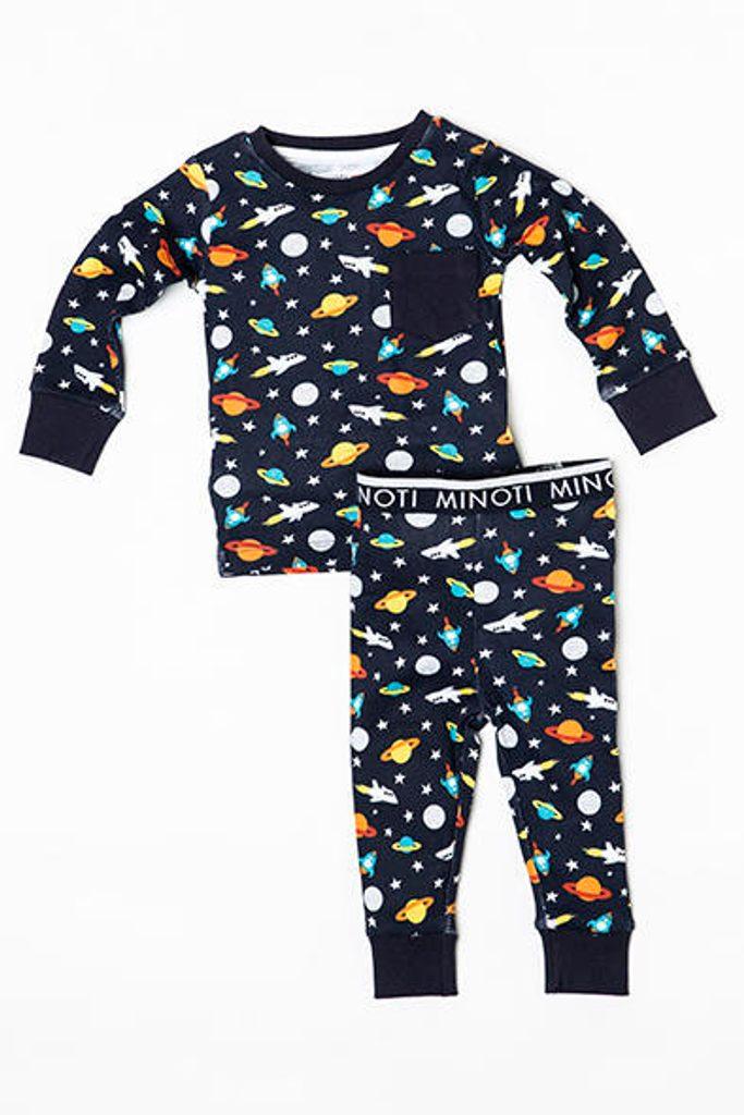 Pyžamo chlapecké Space, Minoti, NIGHT 11, kluk - 80/86
