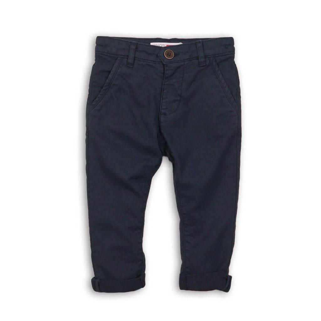Kalhoty chlapecké Chino, Minoti, REAL 1, modrá - 92/98