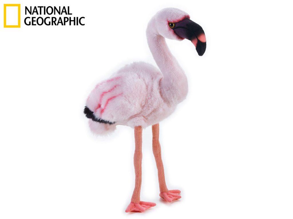 National Geographic Zvířátka ze savany 770760 Plameňák menší 45 cm, National Geographic, W011669