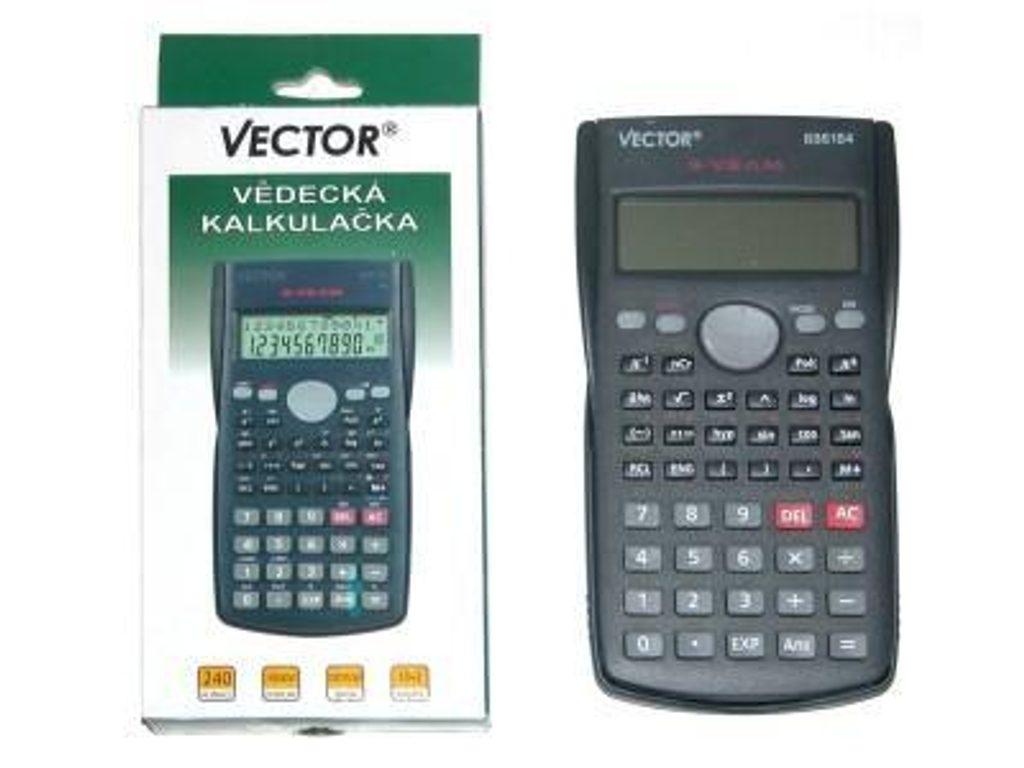 Vědecká kalkulačka VECTOR, Vector, 886184