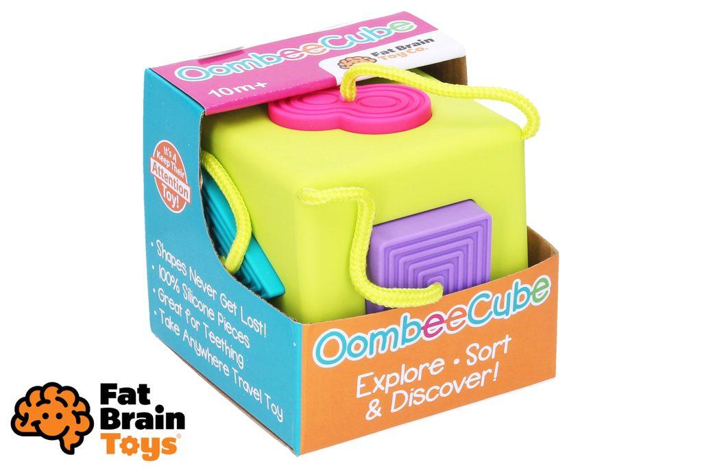 Fat Brain Vkládací kostka OombeeCube, Fat Brain, W010222