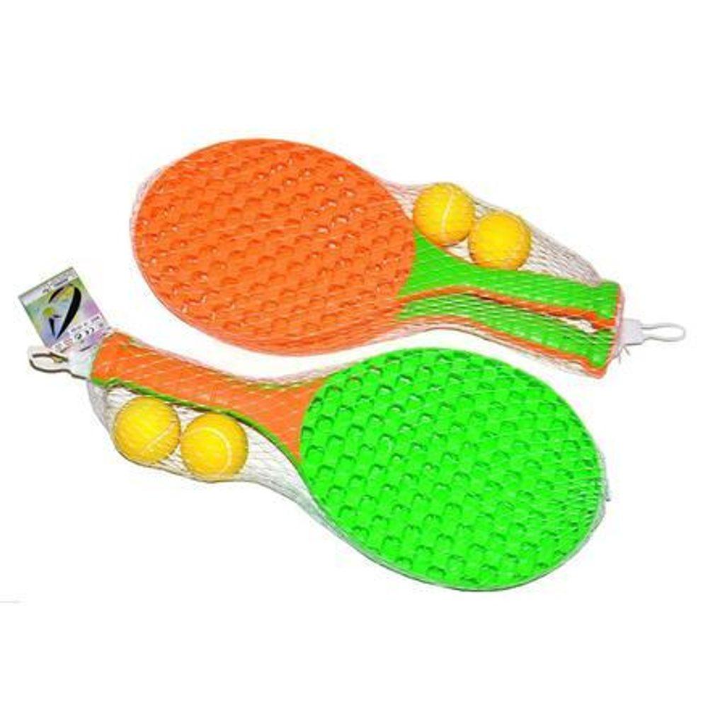 Tenis soft set, 41 cm, 2 asst., Wiky, W118215