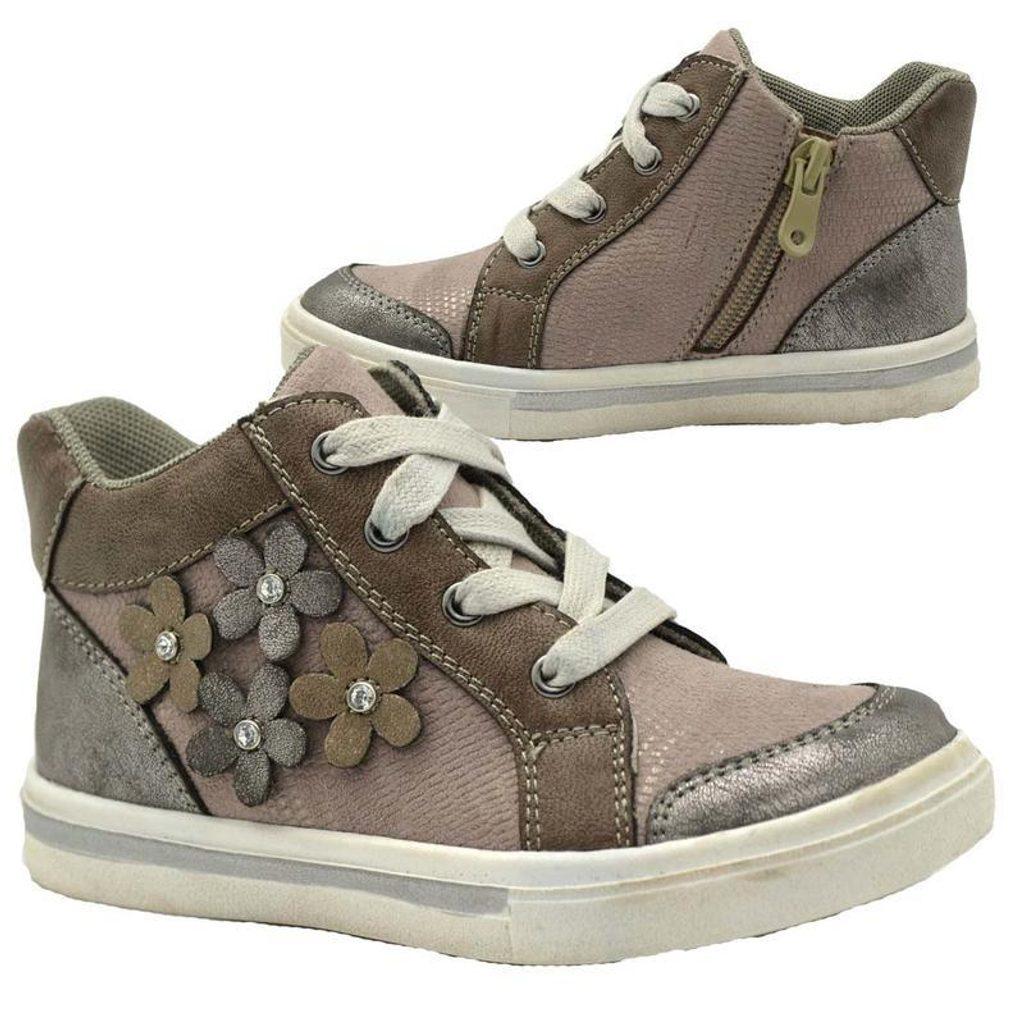 boty dívčí celoroční, Bugga, B00147-09, šedá - 29