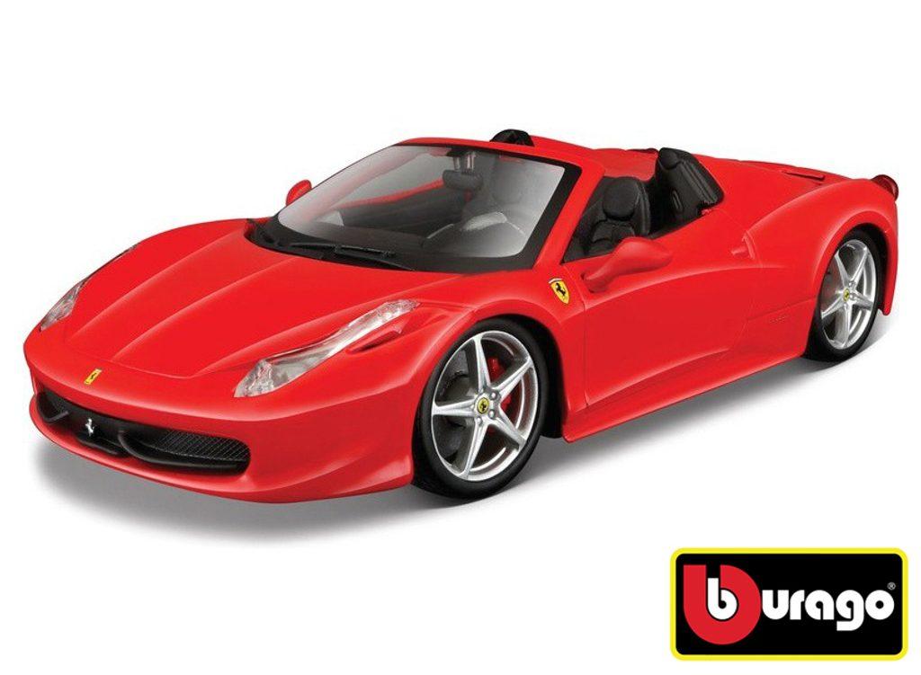 Bburago 1:24 Ferrari 458 Spider Red, Bburago, W007281